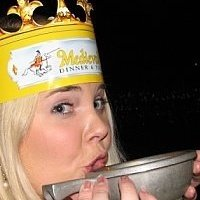 My 27th birthday, at Medieval Times, natch.
