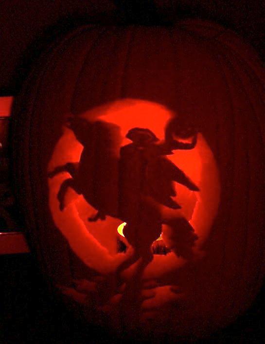 Mike Wazowski Pumpkin Carving 6207 | TIMEHD