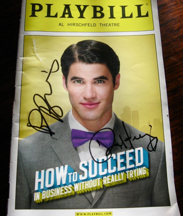 Not too shabby. By the way, all of the posters featuring Second Husband were already sold out! You go, Darren!