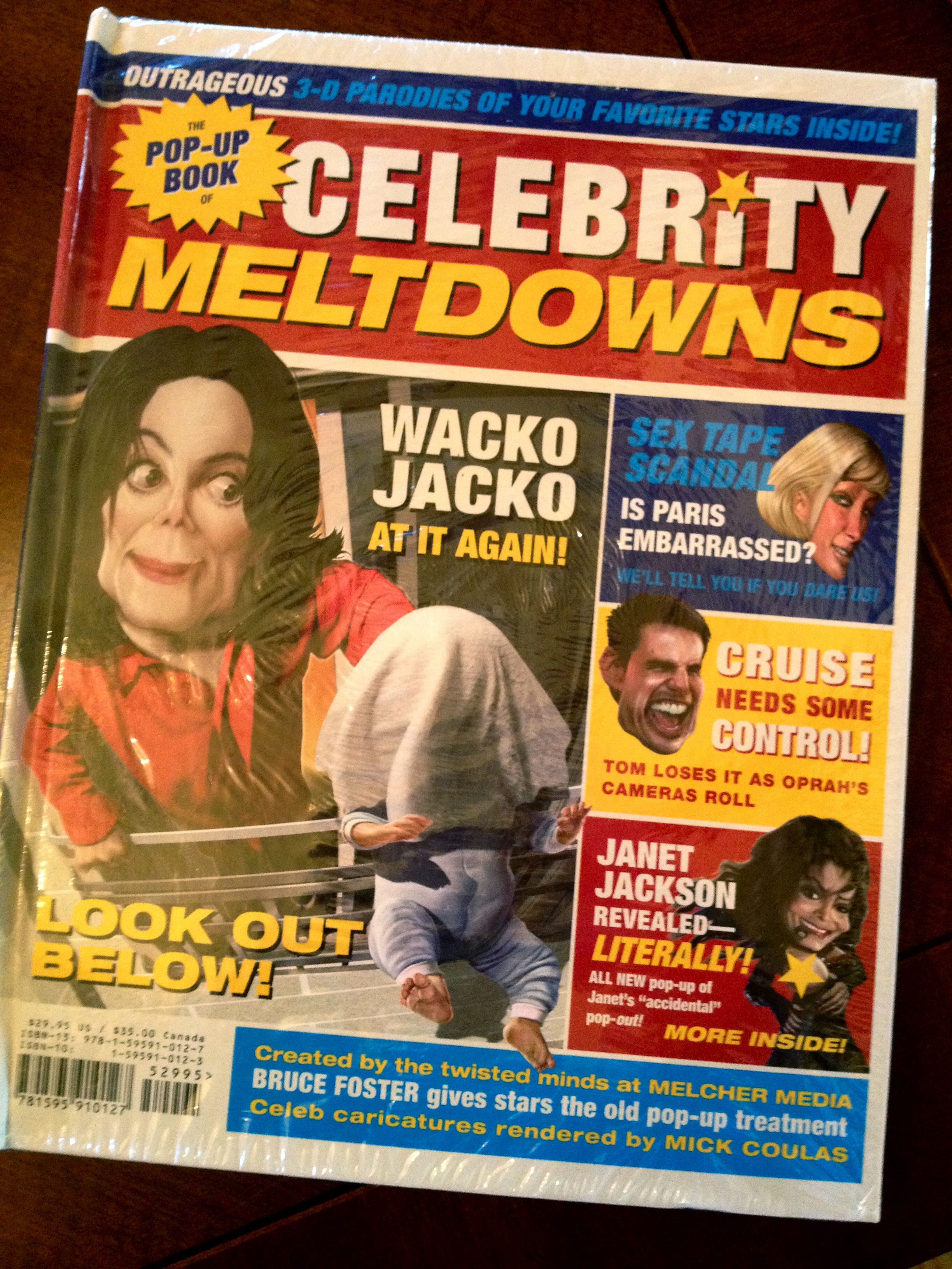 The Pop-Up Book of Celebrity Meltdowns by Heather ...