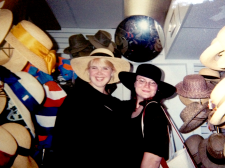 Jules and Jenn in Savannah, circa 2002. Five days from near death.