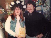 """You say """"You dressed like Amelia Bedelia for a book signing"""" like it's a bad thing..."""