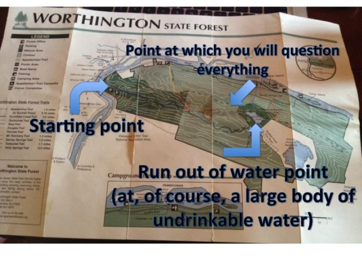 Hike-2-map