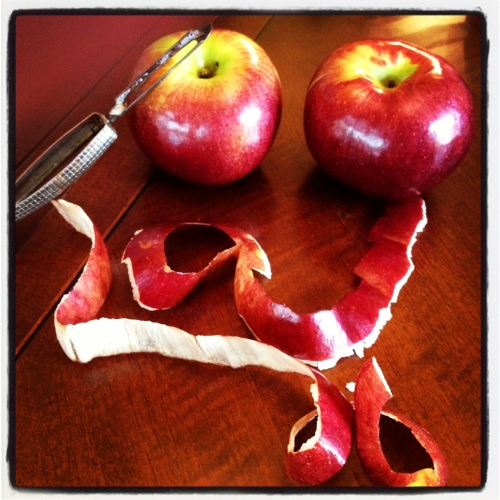 apple-peel