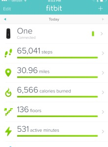 My Fitbit lies.