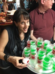Margarita Jell-O shots = the world's greatest motivator.