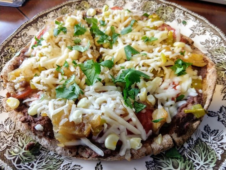 Pita Mexican pizza