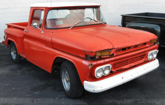 red-chevy-pickup