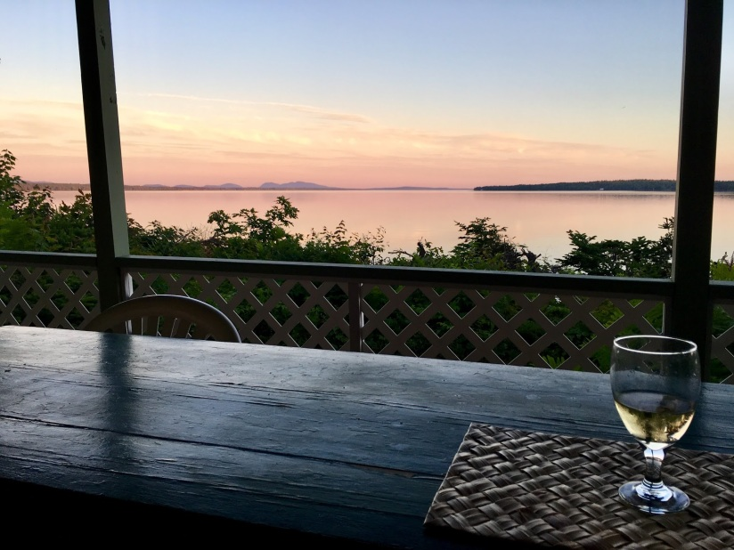 Maine-wine-sunset
