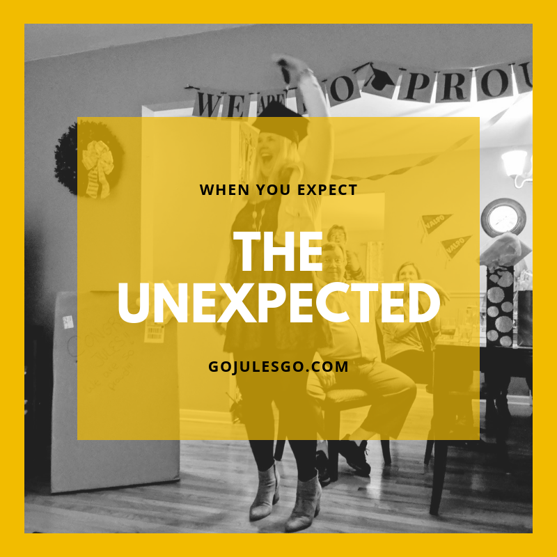 when you expect