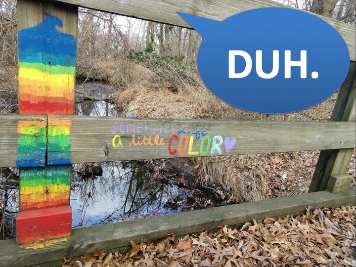Duh bridge Go Jules Go