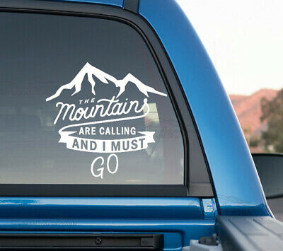Mountains-For-Auto-Car-Bumper-Window-Vinyl-Decal-Sticker-Decals