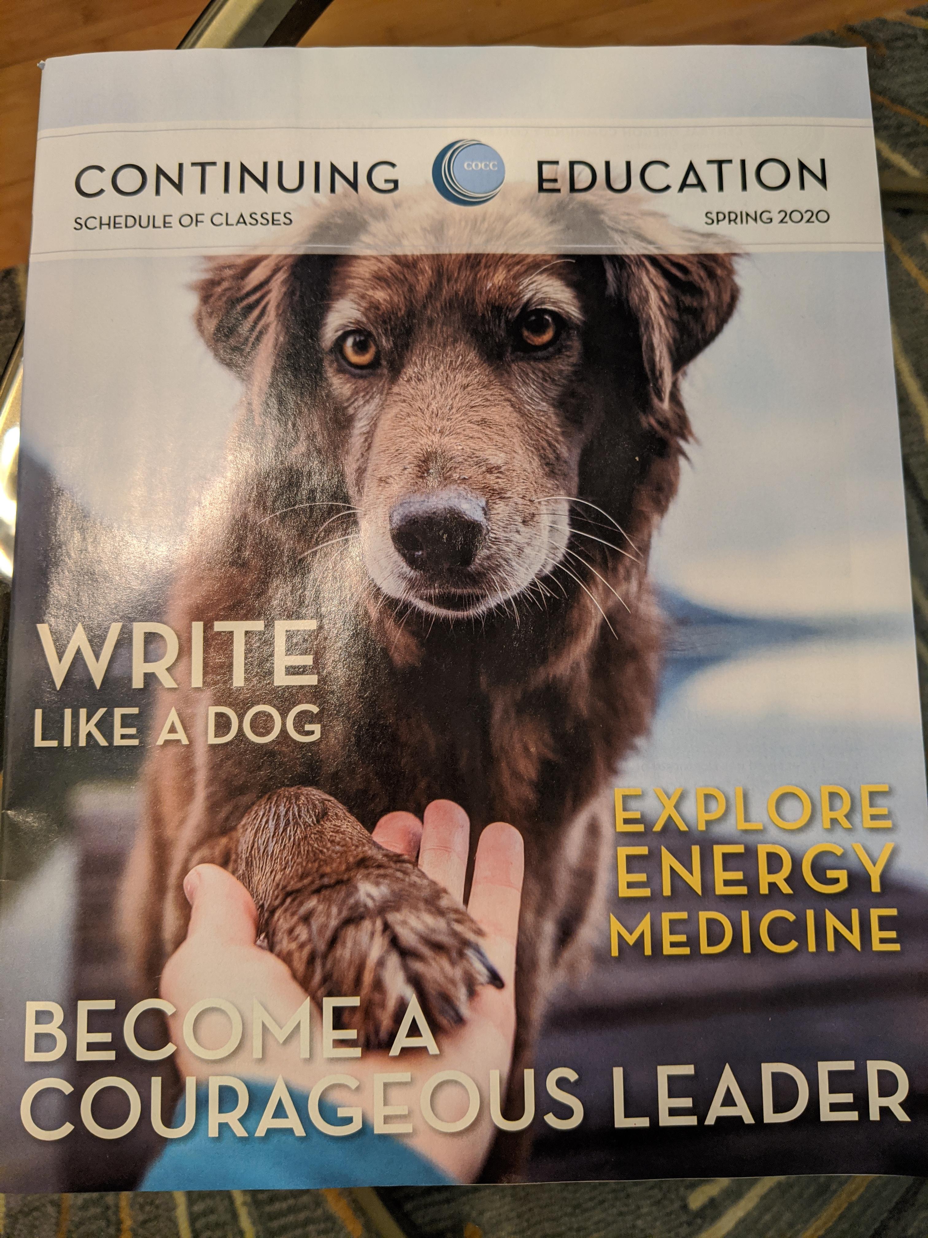 COCC brochure