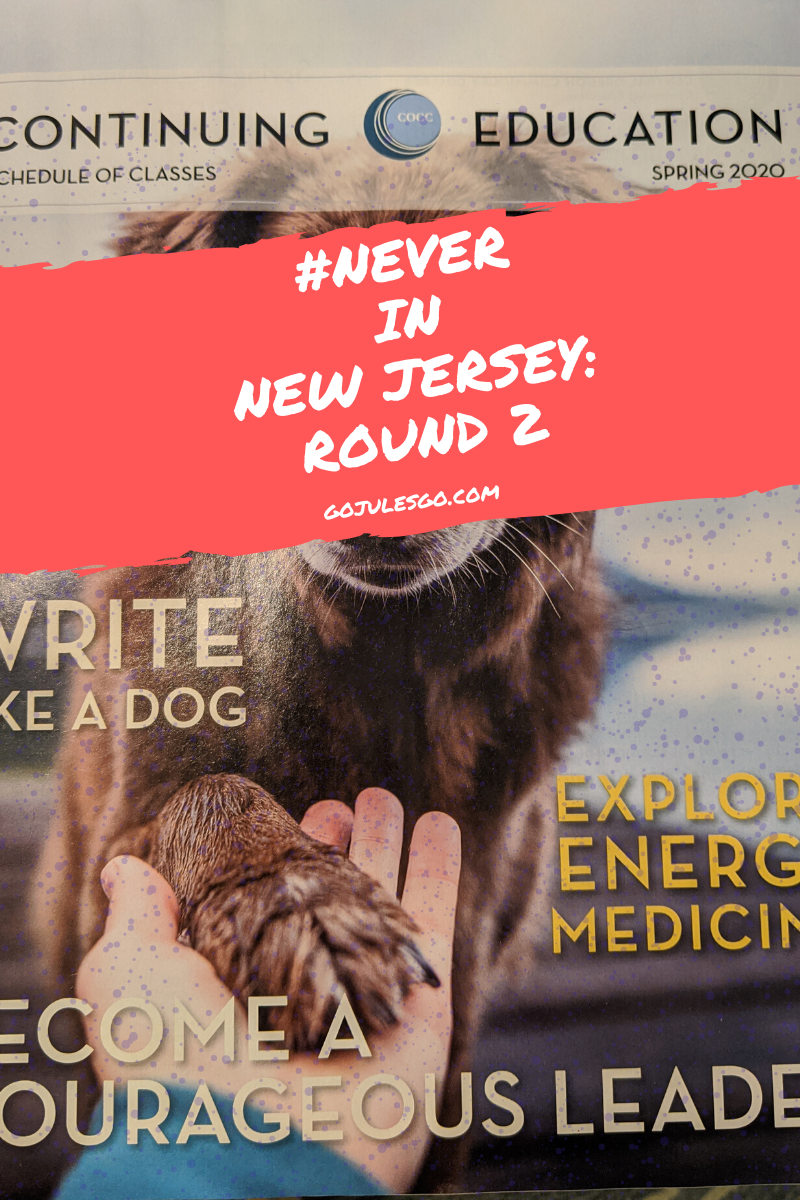 Go Jules Go Never In New Jersey Round 2 Title Graphic 4MAR2020