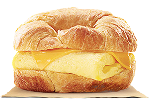 Burger King Egg_and_Cheese_Croissanwich