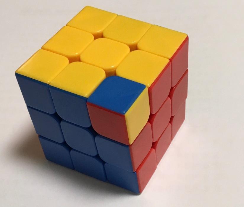 rubix cube wrong