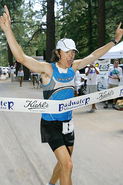 Scott Jurek Badwater finish