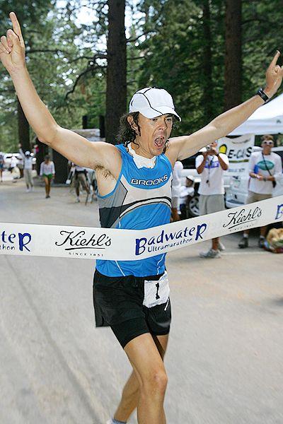 Scott Jurek Badwater finish