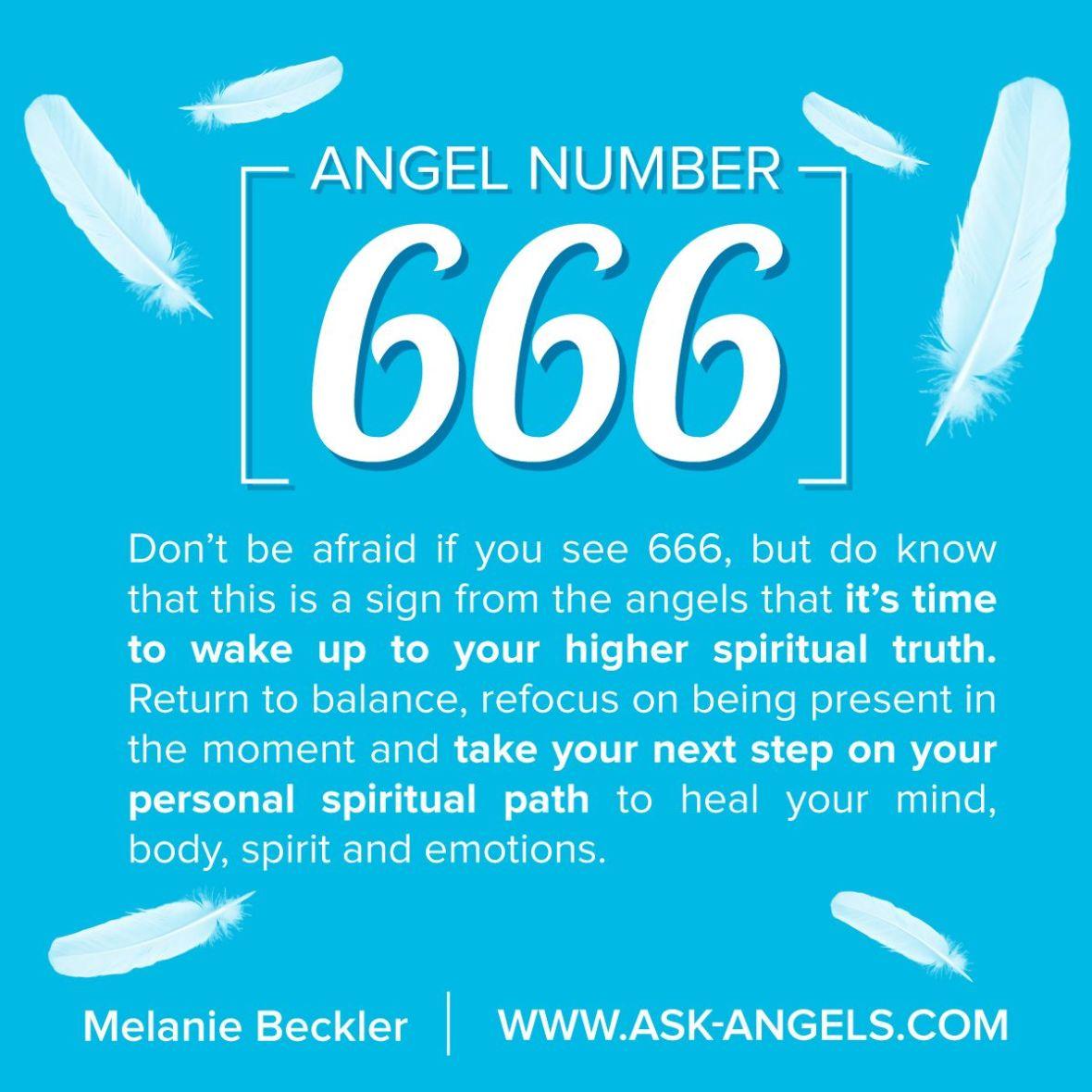 666 angel numer