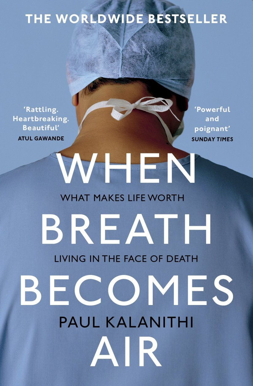 When Breath Becomes Air Paul Kalanithi book cover