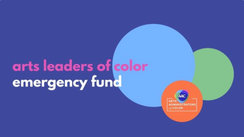 Arts Leaders of Color Emergency Fund