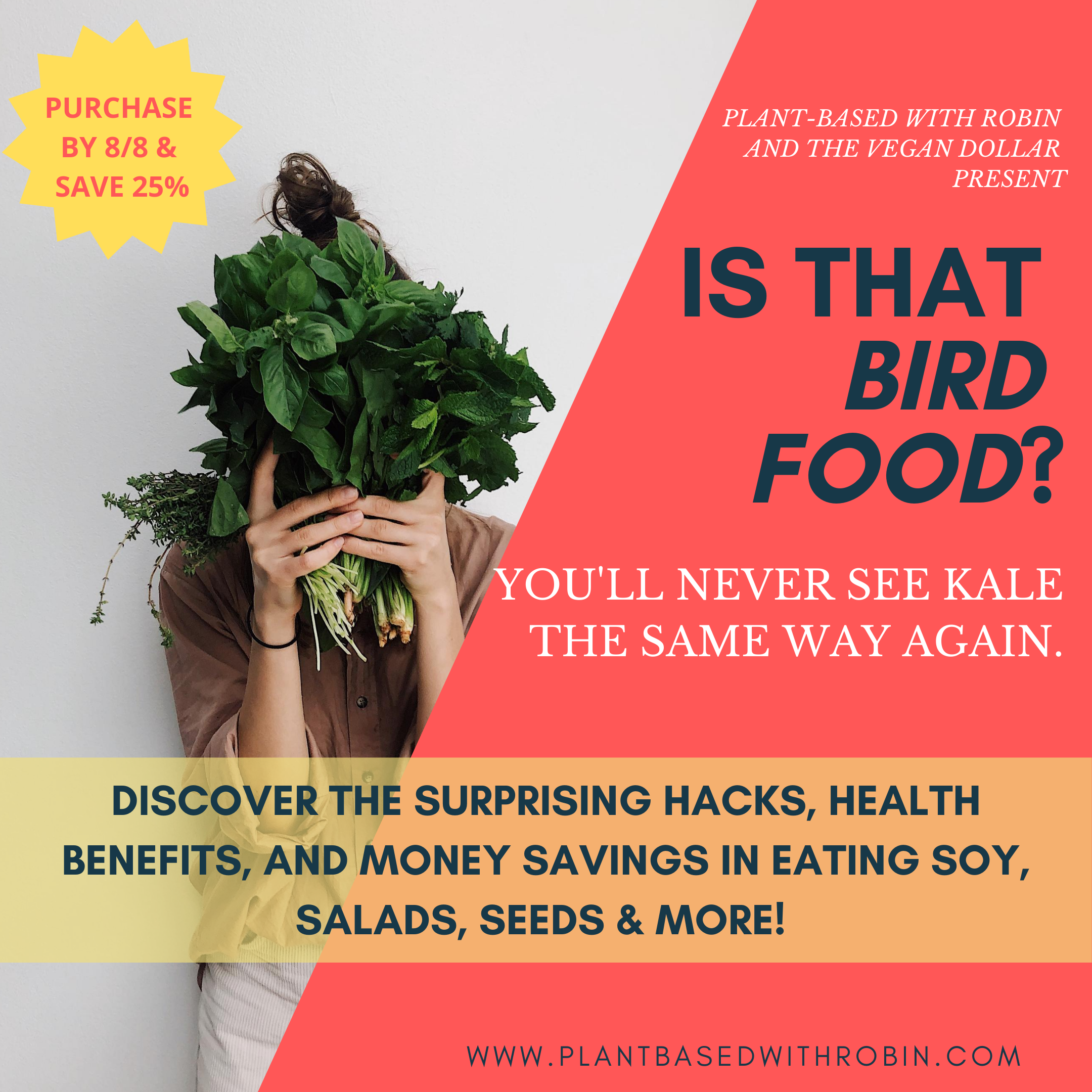 Is That Bird Food AD - Aug 2020 promo